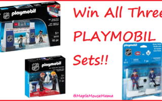 Hockey Rules The Ice and The Toy Room With The @PLAYMOBIL NHL Series – #Giveaway #MMMGiftGuide 12/15