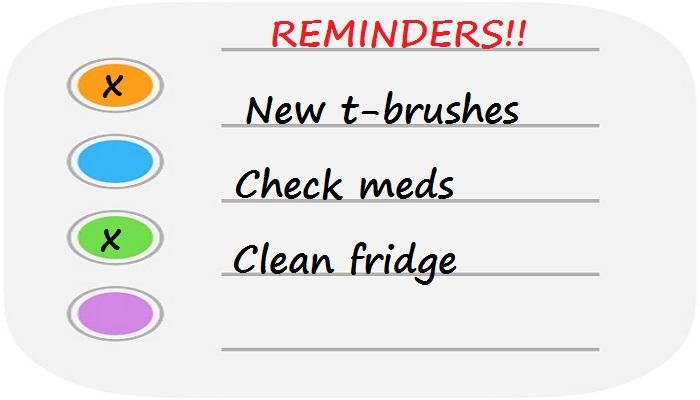 important reminders for parents