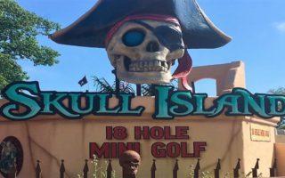 Skull Island – Mini Golf In Wasaga Beach, Ontario! #FamilyFun #Canada150