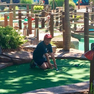 mini golf wasaga beach