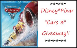 Disney*Pixar's Cars 3 DVD #Giveaway!