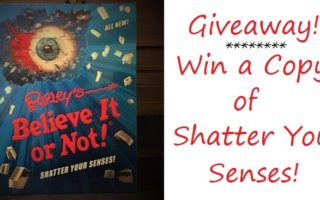 Great Gift #Giveaway For The Curious – Ripley's Believe It Or Not: Shatter Your Senses