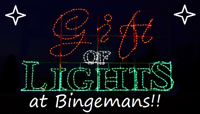 Bingemans' Gift of Lights Returns to Kitchener-Waterloo for a Second Holiday Season