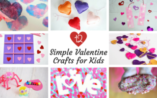 12 Simple Valentine Crafts For Kids