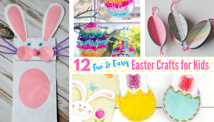 12 Fun And Easy Easter Crafts Maple Mouse Mama