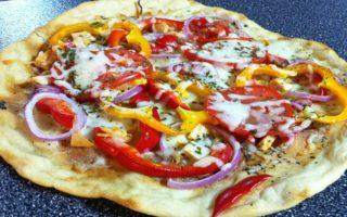 Kathy's Healthy Pizza Flats! #Recipe