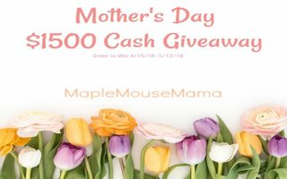 Celebrate Mom With The Mother's Day $1500 Cash #Giveaway!! Open Worldwide!!