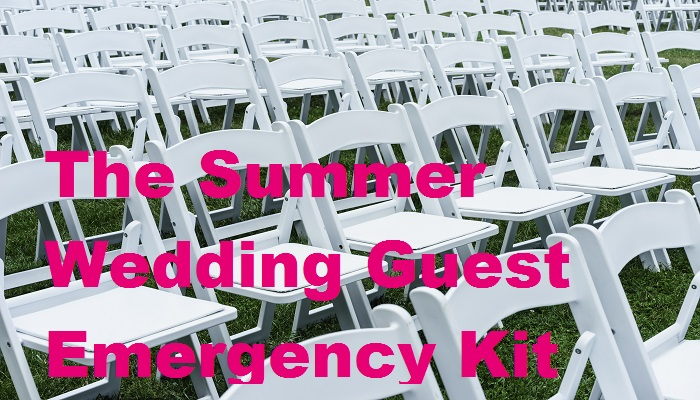 The Summer Wedding Guest Emergency Kit #BayerBlogger