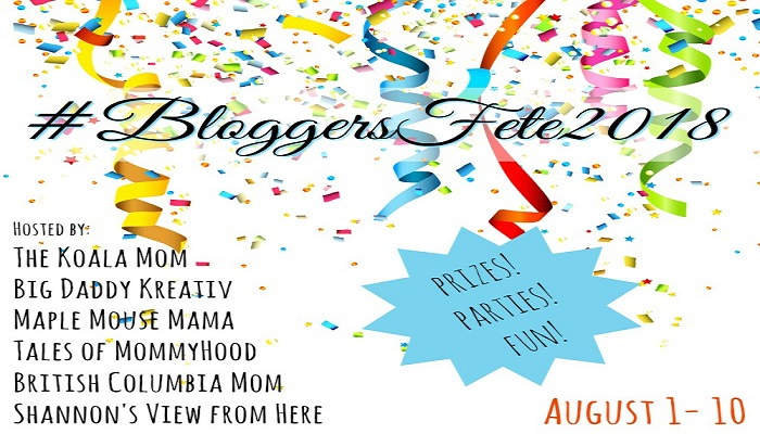 It's THAT Time Of The Year Again – #BloggersFete 2018 Is August 1st – 10th!
