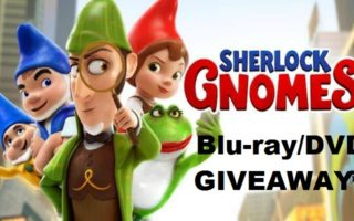 Sherlock Gnomes- A Blu-ray & DVD Combo #Giveaway