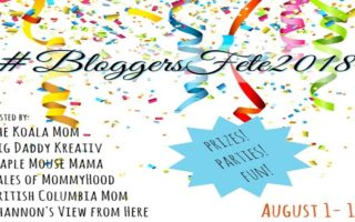 Today Is The Day – #BloggersFete 2018 Has Begun! #Giveaway