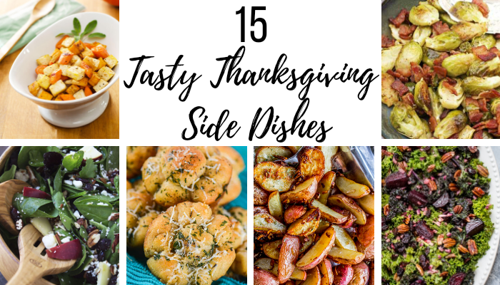 15 Tasty Thanksgiving Side Dish #Recipes