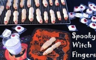 Spooky Witch Fingers #Recipe – The Perfect Halloween Treat!