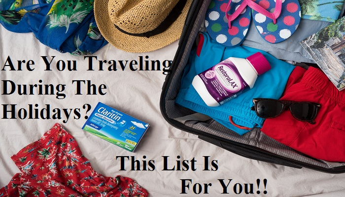 10 Items To Include On Your Holiday Travel List #BayerBloggers