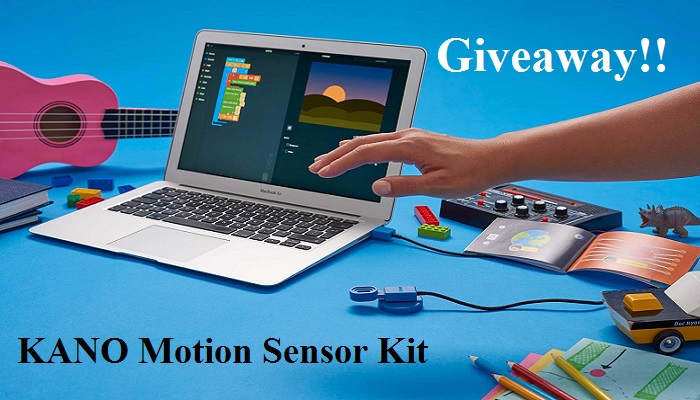 KANO Motion Sensor Coding Kit – STEM Based Fun #Giveaway