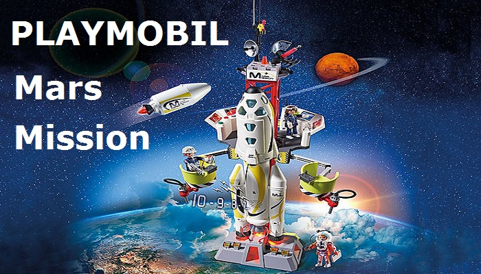 Fly Me To The Moon, Err, Mars With PLAYMOBIL Mars Mission