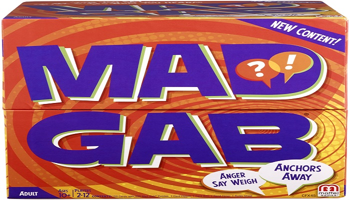 Mad Gab, A Classic Game Perfect For Road Trips!