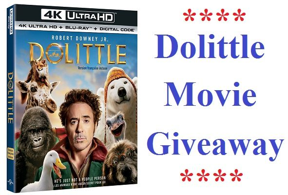 "Now You Can ""DOLITTLE"" At Home… #Giveaway"