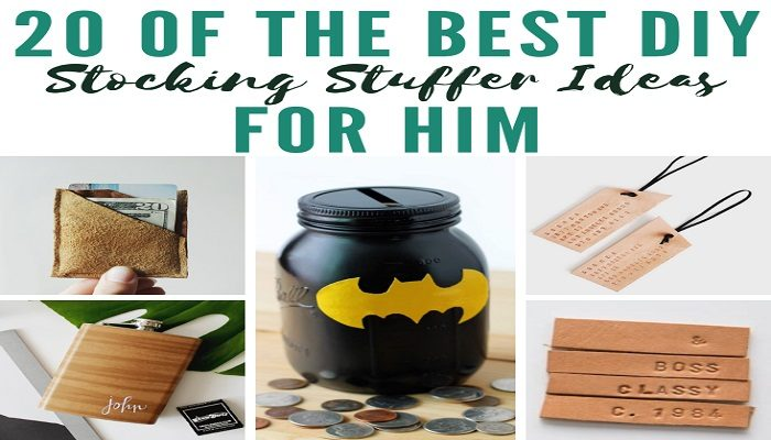 DIY Stocking Stuffer Ideas For The Hardest Person To Shop For