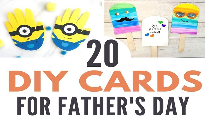 20 Father's Day Cards For Your Kids To Make