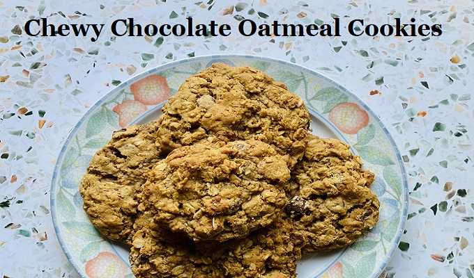 Emily's Chewy Chocolate Oatmeal Cookies #Recipe #NutFree